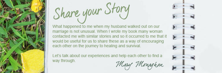 share your story of heartache with mary monaghan